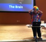 Joann Contini illustrates the complexities of the brain.