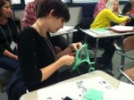 Taylor Worley participated in Mock Caldecott workshop activities at OASL