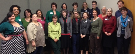 CSD board and supporters pose after a day of strategic planning.